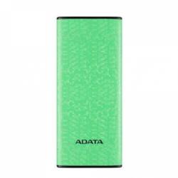 Baterie portabila P10000 ADATA, 10000mAh, 2x USB, Green
