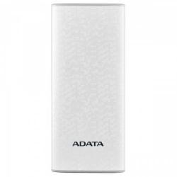 Baterie portabila P10000 ADATA, 10000mAh, 2x USB, White