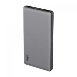 Baterie portabila Qi Hame P49C QC3, 5000mAh, 1x USB-C, 2x USB, Black - Grey