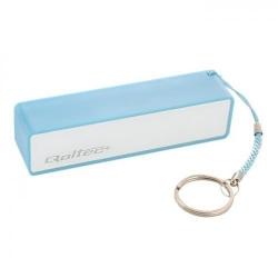 Baterie portabila Qoltec, 2600mAh, 1x USB, Blue - White