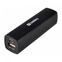 Baterie portabila Sandberg Classic 2200mAh, 1x USB, Black
