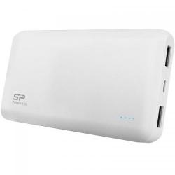 Baterie Portabila Silicon Power S100, 10000mAH, 2x USB, White