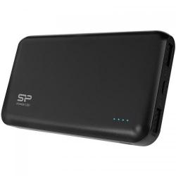 Baterie portabila Silicon Power S150, 15000mAH, 2x USB, Black