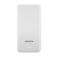 Baterie portabila T10000 ADATA, 10000mAh, 2x USB, White