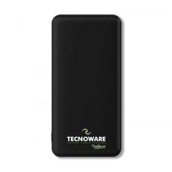 Baterie portabila Tecnoware, 10000mAh, 2x USB, Black