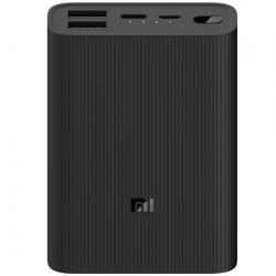 Baterie portabila Xiaomi MI Power Bank 3 Ultra Compact, 10000mAh, 2x USB, 1x USB-C, Black
