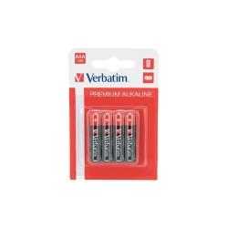 Baterii Verbatim 4x AAA/R3, LR03, Blister