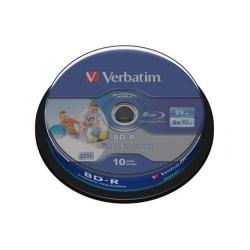 BD-R Verbatim 6X, 25GB, 10buc, Spindle