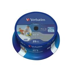 BD-R Verbatim 6X, 25GB, 25buc, Spindle