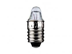 Bec E10 2,2V 0,25A cu lentila L-3651-IND