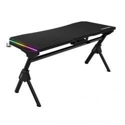 Birou gaming Gamdias Daedelus M1, RGB LED, Black