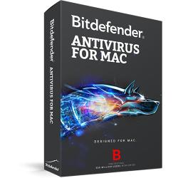 Bitdefender Antivirus for Mac 3 user/2 ani, Base Electronic