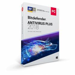 Bitdefender Antivirus Plus 2018, 1 user/1 an, Base Retail