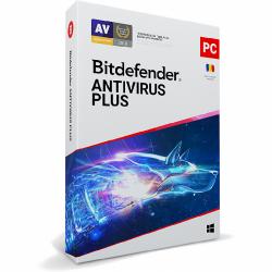 Bitdefender Antivirus Plus 2021, 5users/1year, Base Retail