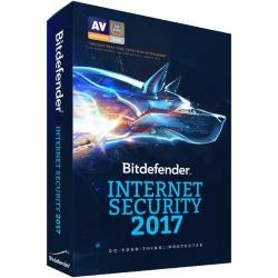 Bitdefender Internet Security 2017 1 user/3 ani, Base Electronic