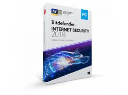 Bitdefender Internet Security 2018, 1 user/1 an, Base Retail