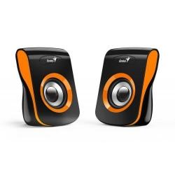 Boxe Genius SP-Q180, 2.0, Black-Orange
