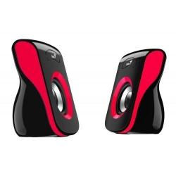 Boxe Genius SP-Q180, 2.0, Black-Red