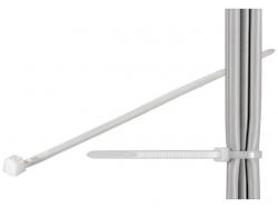 Brida (colier) 2.6x160mm, plastic, transparenta, pentru cabluri 160-2,6-BU100