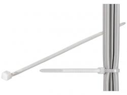Brida (colier) 2.6x200mm, plastic, transparenta, pentru cabluri 200-2,6-BU100