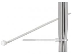 Brida (colier) 3.5x290mm, plastic, transparenta, pentru cabluri 290-3,5-BU100