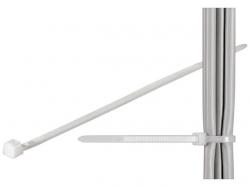 Brida (colier) 4.5x290mm, plastic, transparenta pentru cabluri 290-4,5-BU100