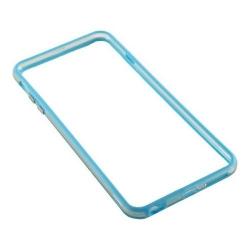 Bumper silicon Serioux pentru iPhone 6/6S, Light Blue