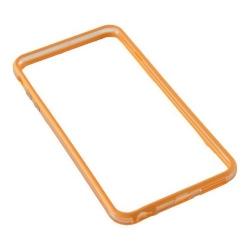 Bumper silicon Serioux pentru iPhone 6/6S, Orange