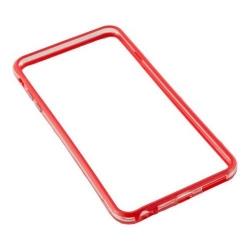 Bumper silicon Serioux pentru iPhone 6Plus/6S Plus, Red