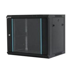 Cabinet rack de perete 18U 600/600mm, negru