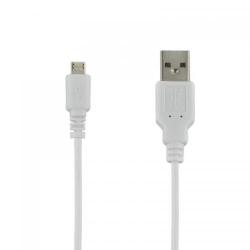 Cablu 4World, USB 2.0 MICRO 5pini, AM / B MICRO transfer/incarcare OEM, 1.0m, alb