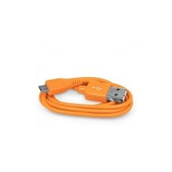 Cablu 4World, USB 2.0 MICRO 5pini, AM / B MICRO transfer/incarcare OEM, 1.0m, orange