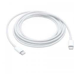 Cablu Alimentator Apple USB-C pentru Notebook, 2m, White