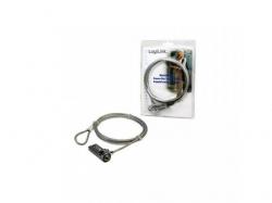 Cablu anti-furt Logilink NBS002 cu cifru pentru laptop, 1.5m