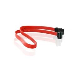 Cablu date 4World, SATA, unghi drept,  50cm
