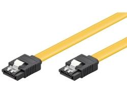 Cablu de date HDD SATA6 L la SATA6 L cu clip, 30cm C/0,3-BU