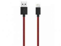 Cablu de date Serioux MFI, USB - Lightning, 1m, Bulk