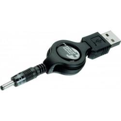 Cablu de date SwissTravel, USB - 3.5mm, Black