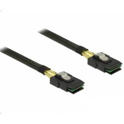 Cablu Delock Mini SAS SFF-8087 Male - Mini SAS SFF-8087 Male, 50cm, Black