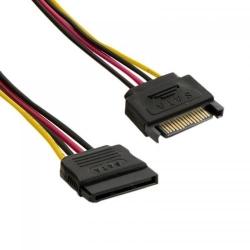 Cablu extensie HDD 4World, SATA 15-pin male/SATA 15-pini female, 20cm, rosu