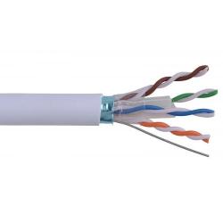 Cablu FTP cat.5e cu sufa, 8 fire din cupru 0.50mm, 305m, Well ; Cod EAN: 5948636004908