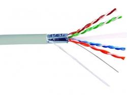 Cablu FTP cat.6, 8 fire din cupru, 305m, Well ; Cod EAN: 5948636025316