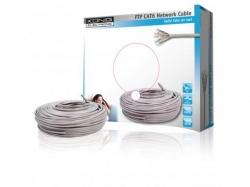 Cablu FTP cat6 conductor solid cuoru AWG24 50m/rola Konig ; Cod EAN: 5412810158188