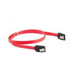 Cablu Lanberg CA-SASA-14CU-0030-R, SATA - SATA, 0.30m, Red