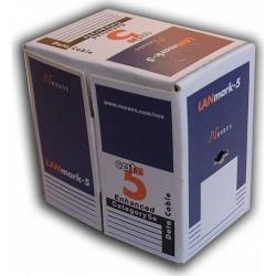 Cablu Nexans U/UTP, Cat 5e, AWG24, PVC, Full cupru, Orange, 305m