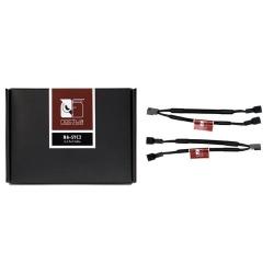 Cablu Noctua, 3-pin - 2x 3-pin, 0.115m, Black