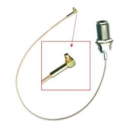 Cablu Pigtail Mikrotik ACMMCX MMCX-N female 3.6cm