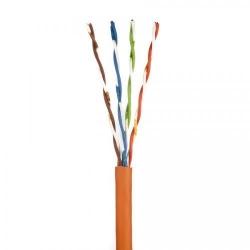 Cablu retea Nexans LANmark, U/UTP, Cat 5e, 305m, Orange