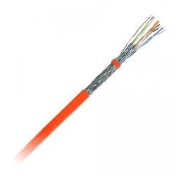 Cablu retea Nexans N100.365-OD, S/FTP, Cat 7, Orange