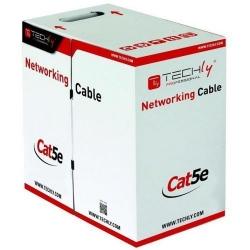 Cablu retea Techly Pro, UTP,  Cat5e, 305m, Grey